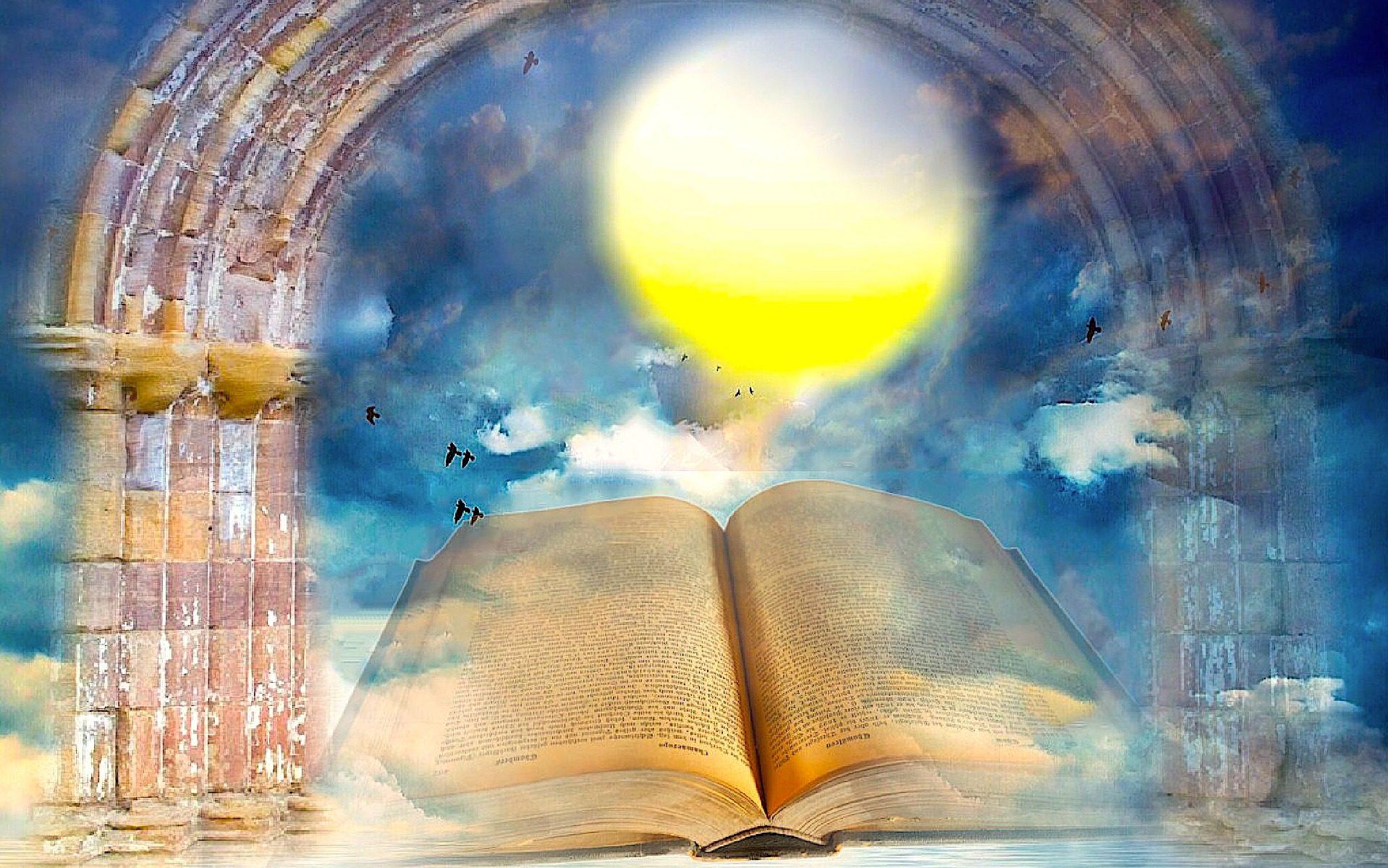Buch als Synonym für eine Akasha Chronik Lesung